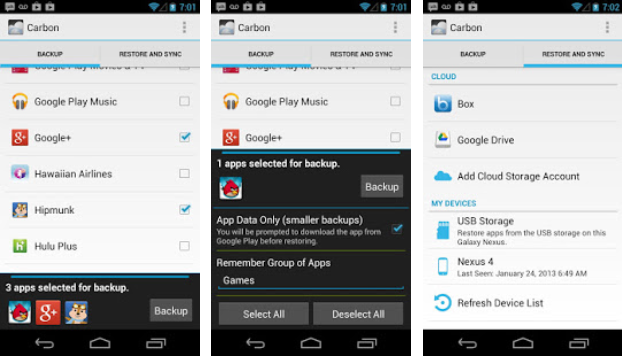 Top 5 Best Android Backup Apps – Free Apps to backup & restore data